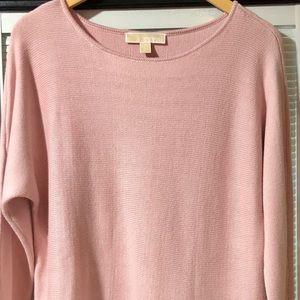 Michael Kors NWOT sweater pink M GORGEOUS
